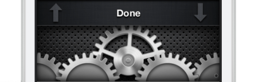 cogs  iOS 7 Concept video of 'Quick Settings'  cogs