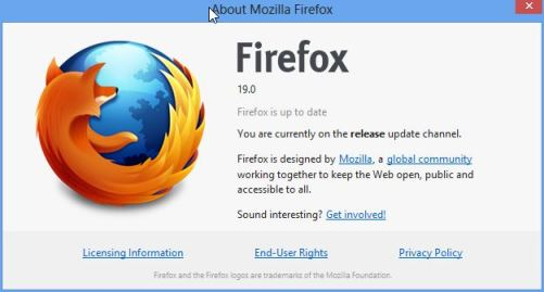 Firefox-19  Download Firefox 19 for Windows, Mac OS X and Linux Firefox 19