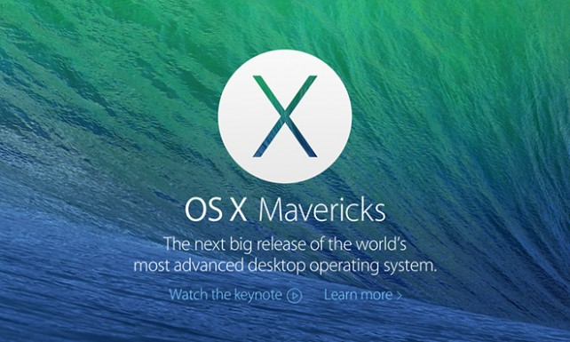 Featured-osx-mavericks  Record of computer systems suitable with OS X 10.9 Mavericks Featured osx mavericks
