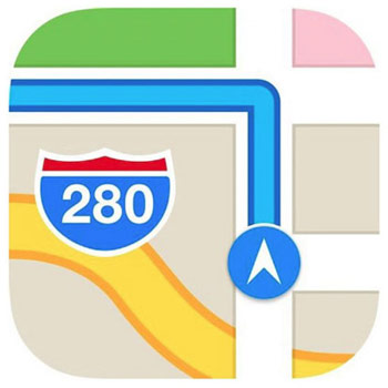 Apple-patent-Maps  Apple is developing a social navigator for iOS, similar to Waze Apple patent Maps 4