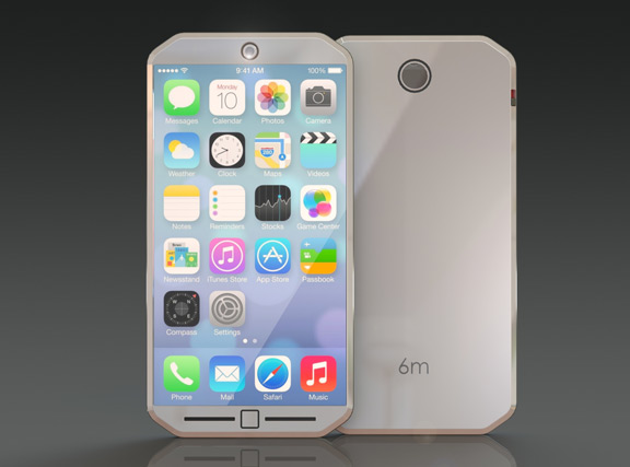 iPhone-6m-4  Thinner iPhone 6 Concept with 18-megapixel camera [renders] iPhone 6m 4