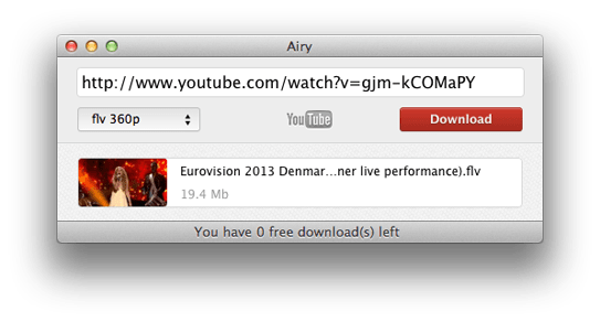 Youtube Downloder for Mac