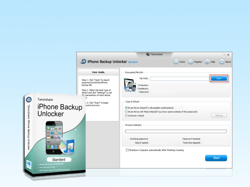 how to find iphone backup password