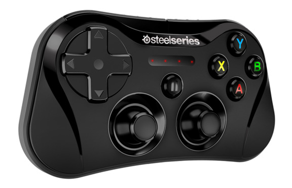 Stratus-2  SteelSeries released the world's first wireless controller for iOS 7 Stratus 2