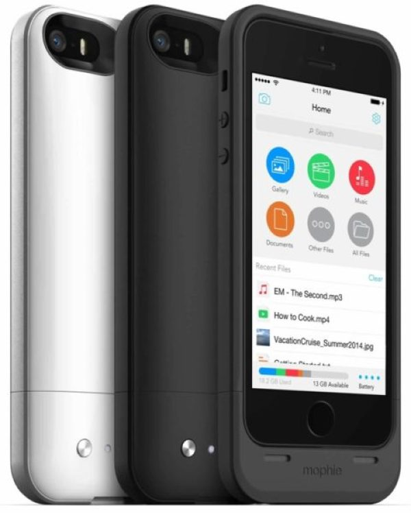 mophie-pack  Mophie Juice Pack: Case for iPhone 5/5s with built-in battery and 32 GB  mophie pack