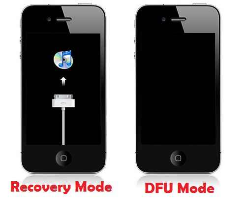 DFU-Mode-and-Recovery-Mode (1)  How To Fix  iTunes Error 21 While Restoring iPhone / iPod Touch itunes error 21