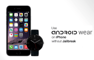 Use Moto 360 Android Wear With iPhone Without Jailbreak