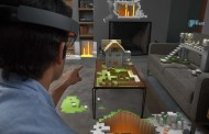 Microsoft built a special version of 'Minecraft' for HoloLens