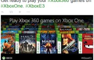 Microsoft Brings Xbox 360 Games On Xbox One