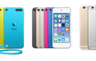 iPod touch 6 vs iPod touch 5 vs iPhone 6 Comparison