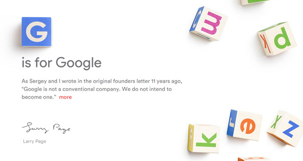 G-is for google