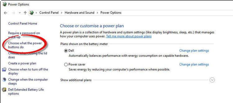 Activate Fast Start On Windows 10_control_panel_-_power_button_thumb