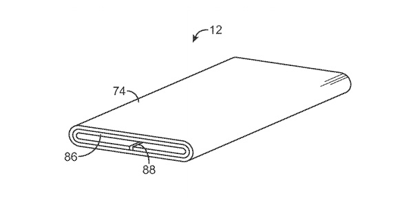 Apple-curved-flexible-OLED-display-patent