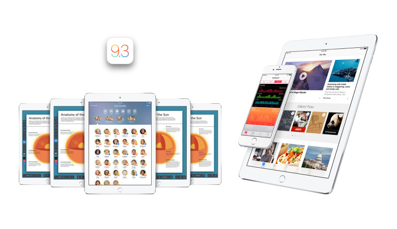 iOS 9.3 Final Version Available For iPhone And iPad