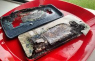 Samsung Galaxy S6 Edge+ Catches Fire While Charging With Official Charger