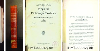 """""""Archivos de Hygiene e Pathologia Exóticas"""", Vol.I Fasc. 1º"""