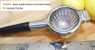 Testimonial For Stainless Citrus Juicer