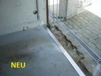 Garagenschwelle edelstahl  Kleinster mobiler Gasgrill.