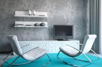 Farbe Grau Visuelle Effekte Interior