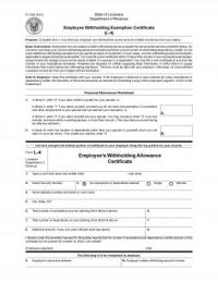W 4 Arizona Tax Withholding Form | Download PDF