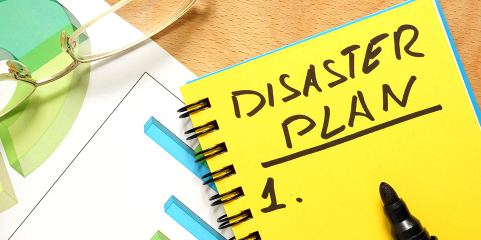 Steps for developing a small business disaster recovery plan III