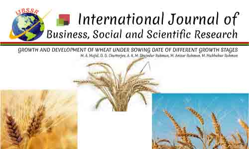 GROWTH AND DEVELOPMENT OF WHEAT UNDER SOWING DATE OF DIFFERENT