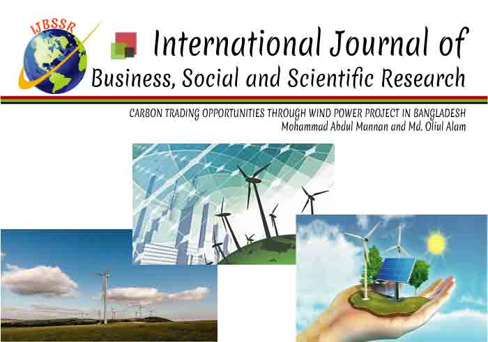 CARBON TRADING OPPORTUNITIES THROUGH WIND POWER PROJECT IN BANGLADESH