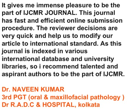 Instructions to Author - International Journal of Contemporary - running title scientific paper