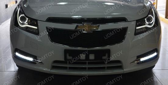 Chevrolet Cruze Direct Fit LED Daytime Running Lights Installation