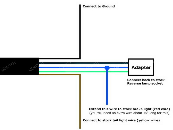Scion FR-S Subaru BRZ Valenti-Style Rear LED Backup Light Installation