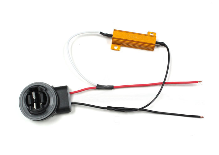 How To Install 50W 6-Ohm Load Resistor For LED Turn Signal Lights