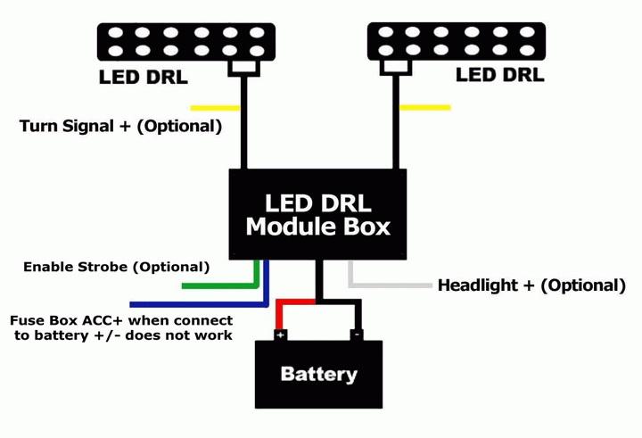 drl controller wiring diagram