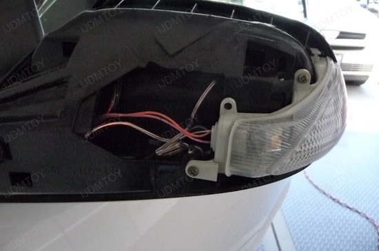 How to install LED Arrow Light For Side Mirror as Turn Signal Lights