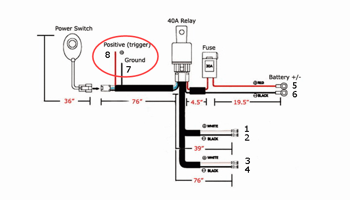 ford raptor aux switch wiring