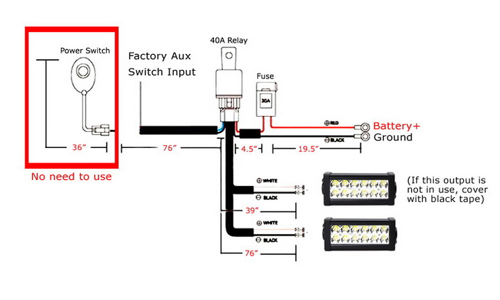 Install LED Products to 2017 Ford F-150 Raptor Aux Switches