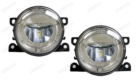 Direct Fit 20W High Power CREE LED DRL Halo Ring Fog Lamps