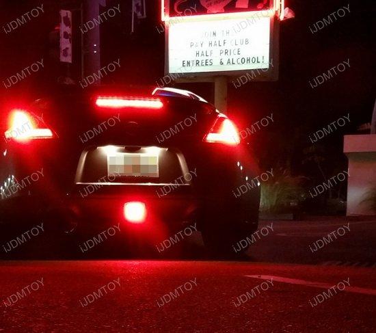 2009-up Nissan 370Z LED 4th Brake Rear Fog Light Reverse Lamp DIY