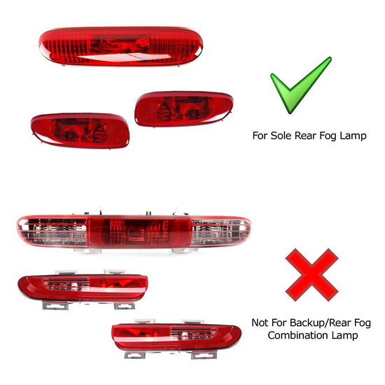 MINI Cooper LED Replacement Bulb w/ Rear Fog Lamp Enable