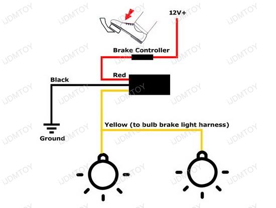 12v strobe light wiring diagram