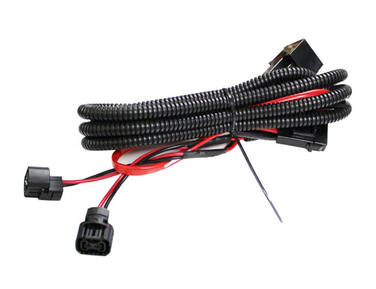 5202 P13W Adapter Fog Lights Relay Wiring Harness For Chevy Dodge