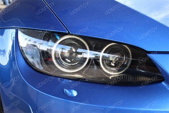 2006-12 BMW E90 1210-SMD LED Angel Eye Kit For Headlight Retrofit