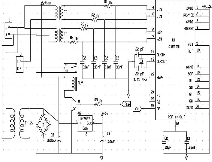 circuit diagram meter