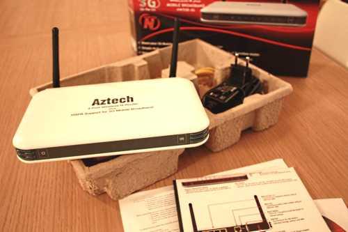 Aztech hw550-3g