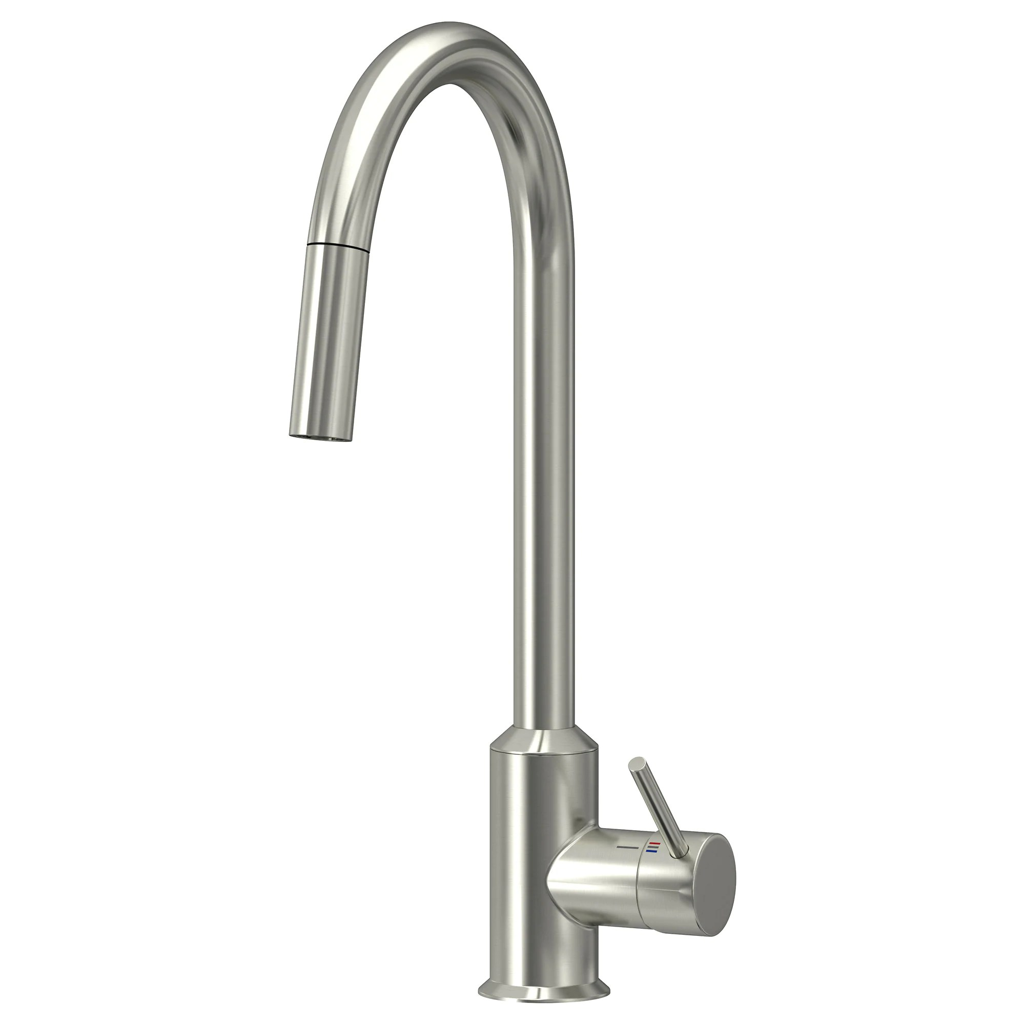 kitchen sinks and faucets RINGSK R kitchen faucet with pull out spout pull out stainless steel color Height