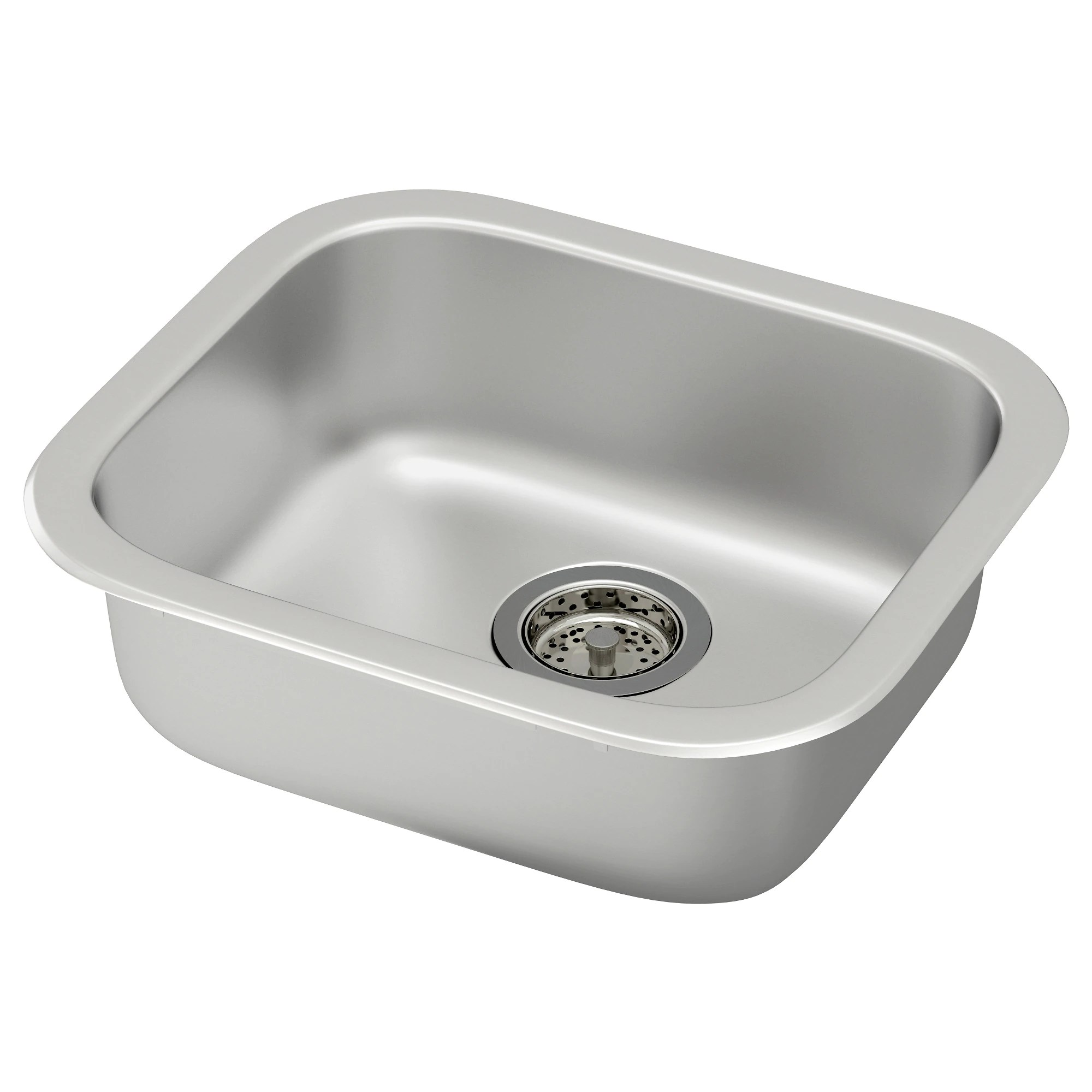 kitchen sink FYNDIG sink stainless steel Width 17 3 4 Depth 15 3