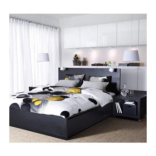 MALM Bettgestell hoch mit 4 Schubladen - 180x200 cm, - - IKEA - schlafzimmer mit malm bett 2