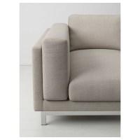 NOCKEBY Pieds pour canap 3 pl Avec mridienne/chrom - IKEA