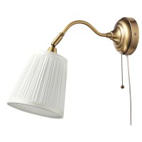 RSTID Wall lamp Brass/white - IKEA