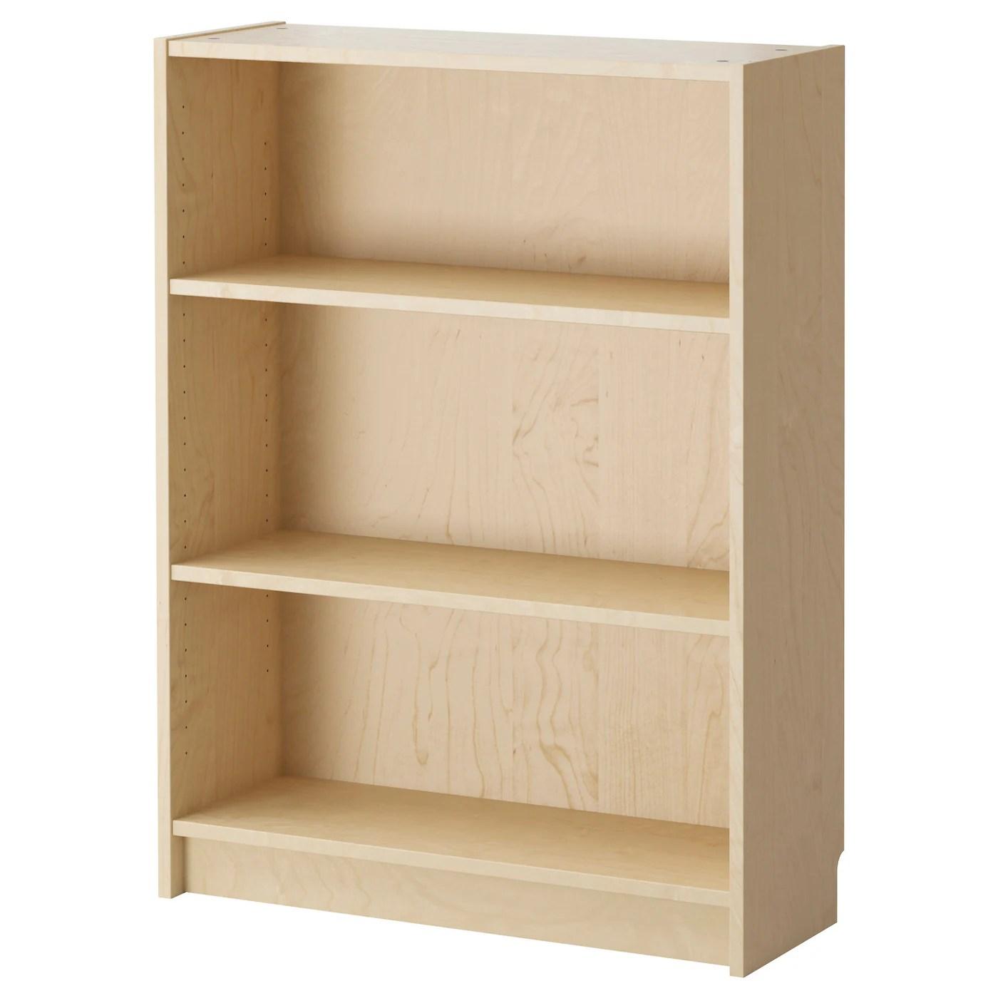 Billy Bookcase Birch Veneer 80x28x106 Cm Ikea