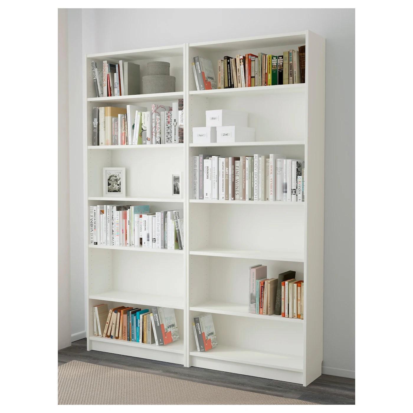 Billy Bookcase White 160 X 202 X 28 Cm Ikea